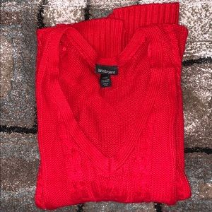 Red Lane Bryant Sweater!